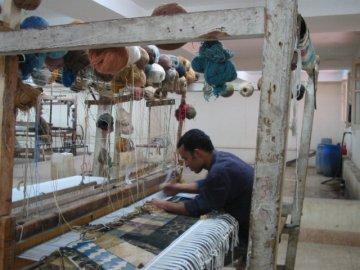 エジプト 手織りじゅうたん