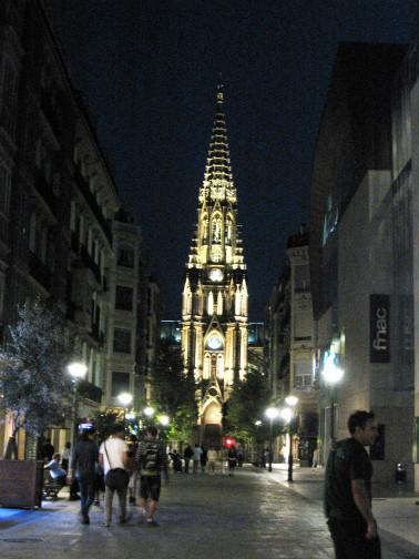 サンセバスチャンのカテドラル