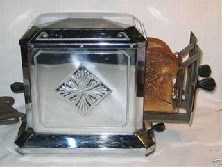 コールマン製の電気トースター