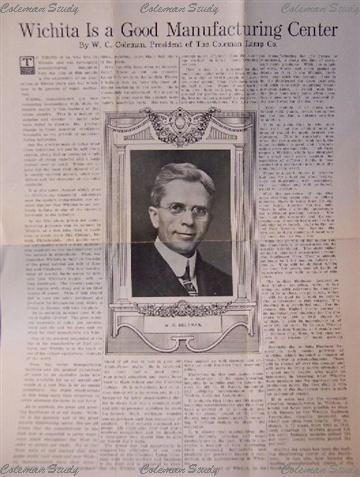 1917年当時の若きW.C.Coleman氏