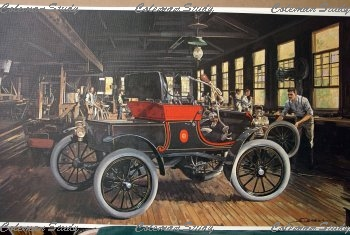 1902年当時の自動車