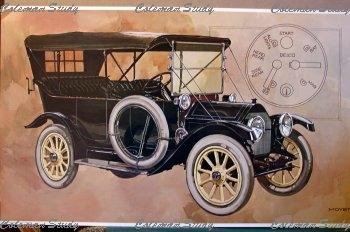 1912年当時の自動車