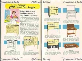 1934年 キッチンレンジのカタログ