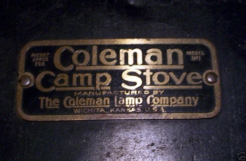 Coleman No.1 Stove