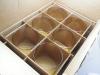 Unused amber 220 globes