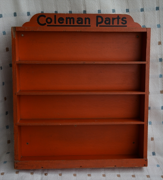 Coleman Parts Dispaly Cabinet