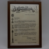 1916年のセールスレター