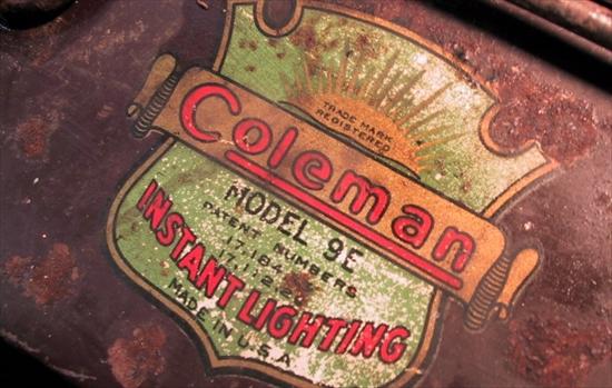 Coleman Stove 9E