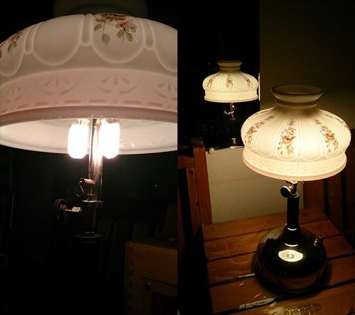 Coleman Quick-Lite lamp