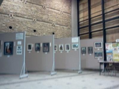 「県木の里 魚梁瀬」山の日写真撮影会の展示1
