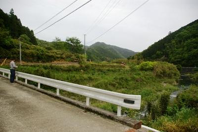 四万十町松葉川沿いの風景2