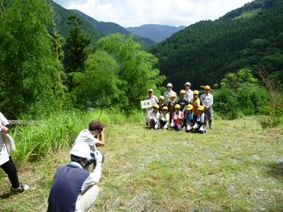 緑の少年団交流会23草刈り撮影