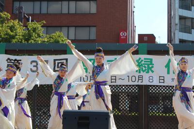 2012都市緑化祭よさこい2