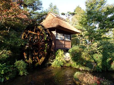 富士屋ホテル水車小屋