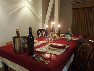 クリスマスディナー1