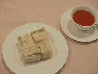 ひな祭りサンドイッチ1703
