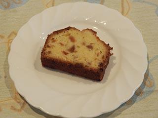 梅のケーキ