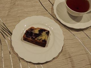 ブルーベリークランブルケーキ2