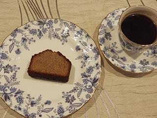 蕎麦粉のケーキ