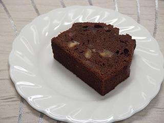栗のチョコレートケーキ