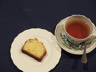 柚子のクランブルケーキ1801