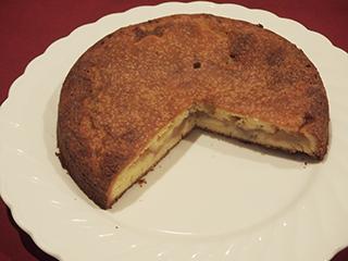 煮りんごのケーキ18021