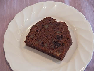 チョコレートとくるみのケーキ1806