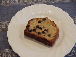 ブルーベリークランブルケーキ1807