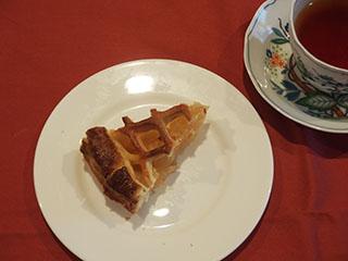 アップルパイ紅玉とお茶1811