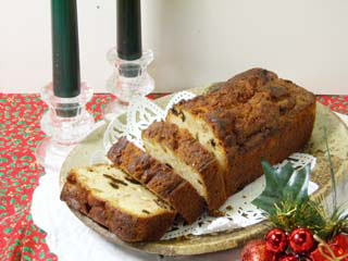 クリスマスのフルーツケーキ1811