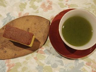 カステラと深蒸し茶1811