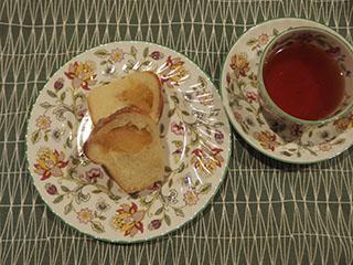 アップルリングとお茶1812