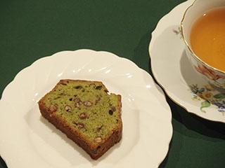 抹茶とあずきのけーき1812