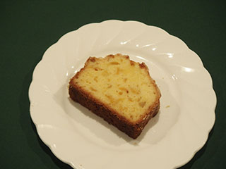柚子のクランブルケーキ1812