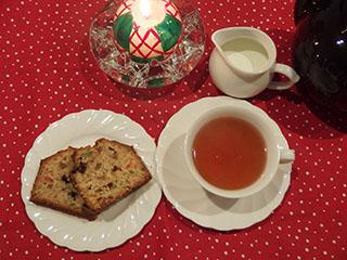 クリスマスのお茶1812