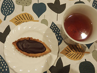 チョコレートタルト1812