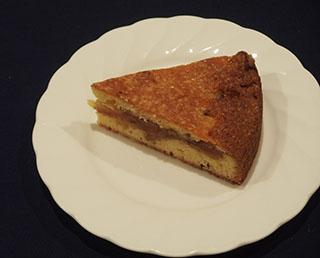 煮りんごのケーキ1901