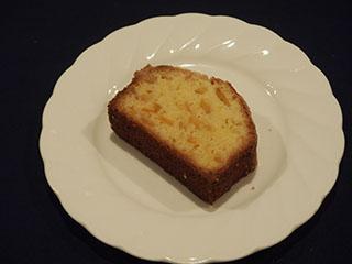 柚子のクランブルケーキ1901