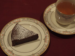 ガトー・ショコラとお茶1902