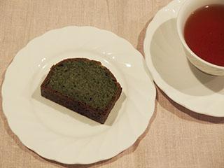 よもぎのけーきとお茶1903