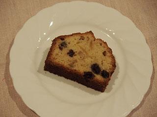 レモンとレーズンのケーキ1903