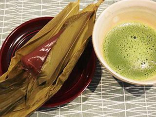 羊羹粽とお茶1905