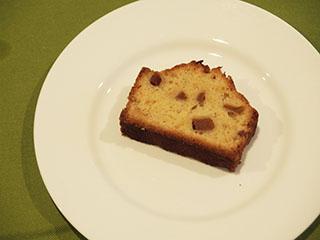 ブランデー風味のりんごのケーキ1905