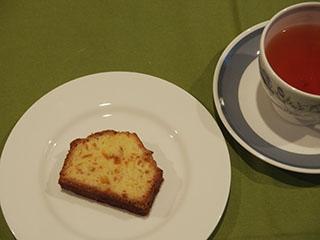甘夏のケーキとお茶1905