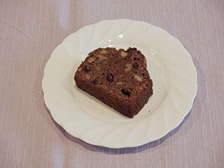 チョコレートとくるみのケーキ1906