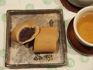 大あん巻とお茶1906