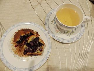 ブルーベリーカップケーキ1908
