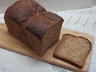 ブラン食パン1908