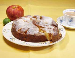 昔風りんごのケーキ1909