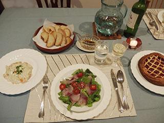 誕生日の食事19091